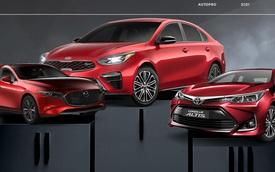 Kia Cerato bán gấp 4 lần Mazda3 trong tháng 6/2021 tại Việt Nam