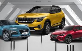SUV/Crossover hạng B: Mazda CX-3 tụt hạng nhưng vẫn nằm trong top bán chạy