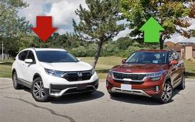 Xe Hàn bám đuổi xe Nhật nửa đầu 2021 tại Việt Nam: Kia bán gần gấp đôi nhờ Seltos, Honda thất thế dù giảm giá sốc CR-V
