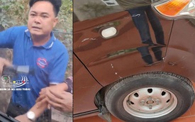Thanh niên hổ báo đập phá ô tô chỉ vì hành động quen thuộc với hàng triệu tài xế