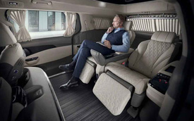 Ra mắt Kia Carnival bản 4 chỗ: Mới nhìn tưởng Mercedes, đúng chất sang xịn cho ông chủ