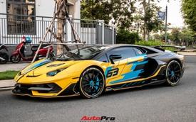Cận cảnh Lamborghini Aventador SVJ độ lên phiên bản cực giới hạn của đại gia Việt
