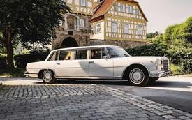 Mercedes-Benz Pullman sau 15 năm phục chế được rao bán với giá bằng 20 chiếc S 500 đời mới
