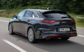 Ra mắt Kia Ceed 2022: Anh em Cerato với nội thất sang xịn, đuôi như xe Porsche