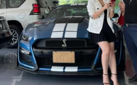 Ford Mustang Shelby GT500 2021 đầu tiên tại Việt Nam lộ diện một chi tiết ngầm khẳng định có chủ