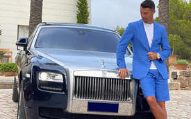 """Hơn triệu lượt thả tim bức ảnh Ronaldo chọn xe giữa dàn xế hộp 550 tỷ đồng cho """"ngày phán quyết"""""""