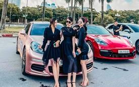Soi giá dàn xe của 'hot boy, hot girl tài chính': Đủ loại 'Mẹc', Porsche giá từ 1,5 tỷ đến 11 tỷ đồng