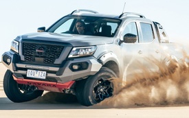 Nissan Navara Pro-4X Warrior 2022 - Áp lực mới cho Ford Ranger Raptor