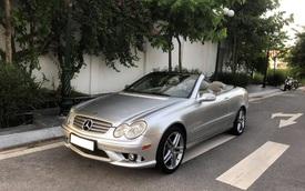 Vượt ngưỡng 100.000km, xe 'dân chơi' Mercedes-Benz CLK 'mới nhất nhì Việt Nam' có giá rẻ ngang Toyota Vios