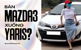 Bán Mazda3 'xuống đời' Toyota Yaris, người dùng đánh giá: 'Lành, rộng hơn nhưng không đẹp sang bằng'