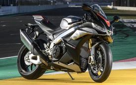 Siêu mô tô Aprilia RSV4 1100 Factory 2021 sắp về Việt Nam với giá đồn đoán ngang ngửa Toyota Camry