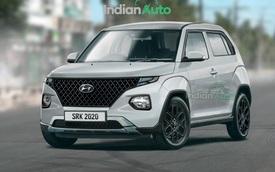 Lộ diện Hyundai Casper - SUV siêu tí hon giá rẻ dùng chung khung gầm Grand i10