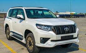 Toyota Land Cruiser Prado 2021 nhập Trung Đông chào hàng nhà giàu Việt với giá hơn 4 tỷ đồng: Động cơ khủng, nhiều 'đồ chơi'