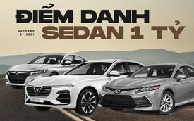 Phân khúc sedan giá 1 tỷ tại thị trường Việt: 'Lính mới' hạ giá rẻ như xe hạng B, Mazda6, Toyota Camry chịu sức ép