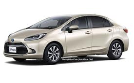 Xem trước Toyota Vios thế hệ mới: Lấy cảm hứng từ Prius, nội thất nhìn qua đã thấy mê