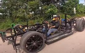 Bugatti Chiron tự chế của ngư dân Việt lên báo Mỹ