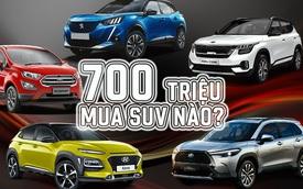 Có 700 triệu mua SUV nào nếu sợ MG HS: Nhật, Hàn, Pháp đủ cả
