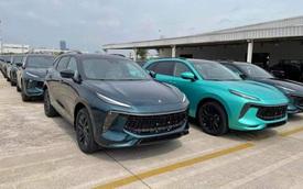 Lô xe Dongfeng T5 Evo đầu tiên lên đường về Việt Nam - Xe Trung Quốc giá 769 triệu đồng đấu Beijing X7