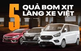5 xe 'xịt ngòi' tại Việt Nam: HR-V, Avanza có thể dừng bán, Ciaz, D-Max loay hoay trong khi Tourneo đã dừng cuộc chơi