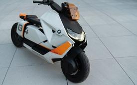 BMW tham chiến phân khúc xe máy điện: Nhìn như phân khối lớn nhưng chỉ chạy được 12km/ngày