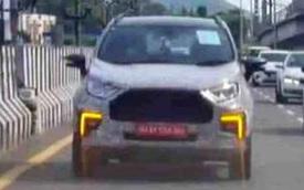 Ford EcoSport facelift lộ mặt: Hầm hố hơn để đòi lại doanh số từ Kia Seltos