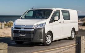 'Cá mập' Toyota HiAce sẽ có thêm phiên bản siêu tiết kiệm, người chạy dịch vụ bớt lo tiền xăng