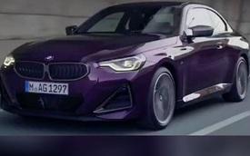 BMW 2-Series Coupe 2022 lộ diện trước ngày ra mắt - Xe chơi đích thực cho nhà giàu