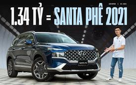 Đánh giá Hyundai Santa Fe 2021: PHÊ kiểu xe Hàn, Nhật, Đức cộng lại