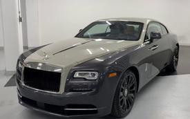 Rolls-Royce Wraith siêu hiếm cả thế giới chỉ có 50 chiếc sắp xuất hiện tại Việt Nam