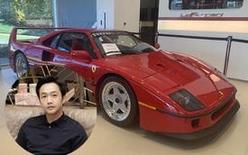 Nguyễn Quốc Cường 'mê quá' một siêu xe Ferrari, muốn chốt kèo ngay và luôn
