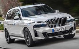 Phác hoạ BMW X7 mới với thiết kế đầy tranh cãi, 'lỗ mũi khổng lồ' không còn là thứ được quan tâm chính nữa