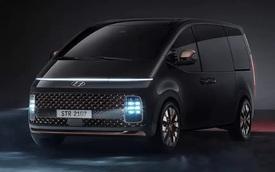 Hyundai Staria ra mắt tại Thái Lan: Hai phiên bản, giá quy đổi từ 1,22 tỷ đồng, đấu Kia Sedona