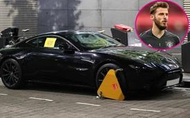 Thủ môn Manchester United bất lực bắt taxi về nhà vì siêu xe Aston Martin Vantage bị cảnh sát khóa bánh