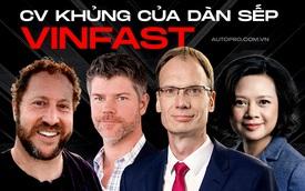 Những người được ông Phạm Nhật Vượng 'chọn mặt gửi VinFast' lên tầm thế giới