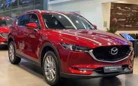 Mazda CX-5 giảm giá mạnh còn hơn 790 triệu đồng, quyết giành lại ngôi vua doanh số vừa bị Honda CR-V lấy mất