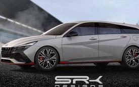 Ảnh dựng cho thấy Hyundai Elantra 2021 luôn đẹp trong mọi hoàn cảnh