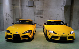 Toyota Supra làm từ Lego: To như xe thật, tốc độ tối đa 28km/h, nhưng có tiền cũng chẳng mua được