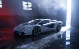 Trưng bày siêu xe bao giờ cũng toát mồ hôi: Lamborghini Countach giá triệu USD xước mâm ngay ở sự kiện