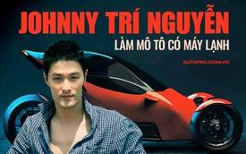 Johnny Trí Nguyễn tiết lộ mô tô lai ô tô tự tay chế tạo: Khó nhất là treo trước, giá sẽ hợp tình nhưng không chắc hợp lý