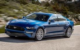 Tóm gọn mẫu sedan lạ hé lộ tương lai của Ford Mustang phiên bản 4 cửa