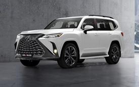 Xem trước Lexus LX 570 đời mới sắp ra mắt: SUV nhà giàu mang khung Land Cruiser