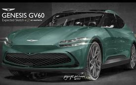 Phác thảo Genesis GV60 - Đối trọng hạng sang của VinFast VF e35