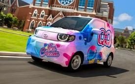 SUV đô thị Trung Quốc có giá quy đổi chỉ 100 triệu, chạy được 200km nhưng tên xe mới là điều gây chú ý