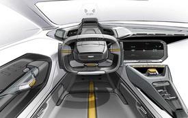 Xem trước thiết kế nội thất phong cách chiến đấu cơ của Chevrolet Camaro trong tương lai
