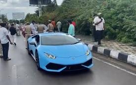 Đi quẩy bằng siêu xe, hội rich kid bất ngờ bị cảnh sát chặn vì trốn thuế