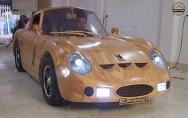 Thợ Việt đổi Ferrari 250 gỗ chế tác trong 70 ngày lấy Mercedes-Benz GLC