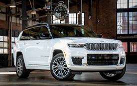 Đại lý nhận cọc Jeep Grand Cherokee L 2022: Giá hơn 5 tỷ đồng, có chi tiết giống Range Rover, cạnh tranh BMW X7