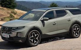 Nếu Hyundai Santa Cruz có bản SUV: 3 hàng ghế, 7 chỗ, đẹp xuất sắc