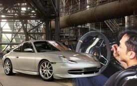 Không chạy được siêu xe mùa dịch, Nguyễn Quốc Cường lấy Porsche 911 ảo đi đua, thể hiện tay lái lụa ở vận tốc hơn 250 km/h