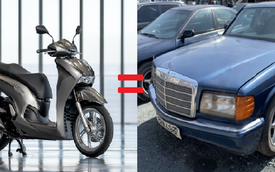 Ngang giá Honda SH 350i, đây là loạt ô tô bạn mua được với ngân sách 150 triệu đồng